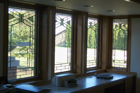 stained glass windows for home house englewood stained glass windows bergen county service in nj