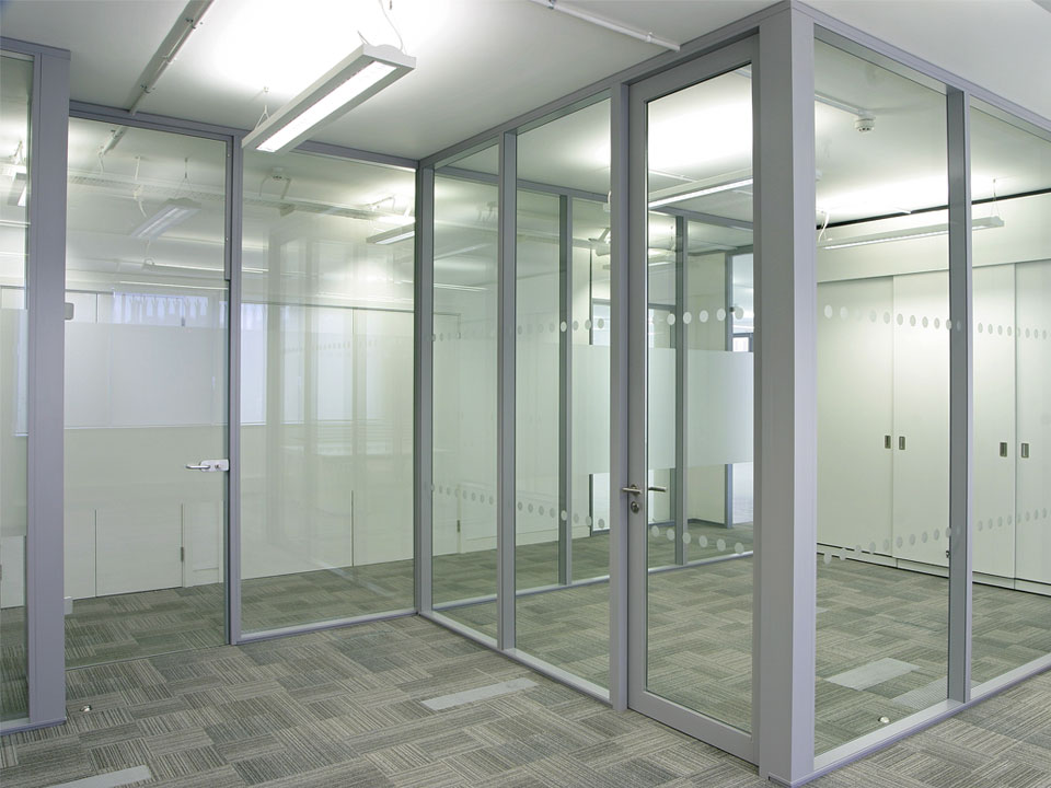 office partition with door. Fairview Glass Office Partitions | NJ Services Partition With Door
