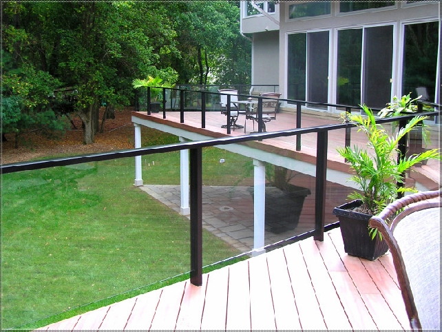Glass Railings in Garfield | NJ Glass Service