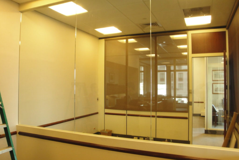 Glass Partitions in Edgewater