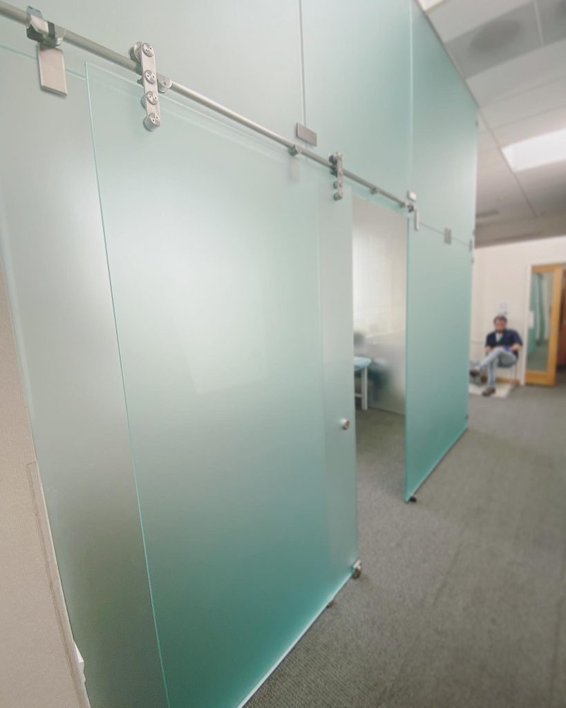 Hackensack Glass Partition Walls