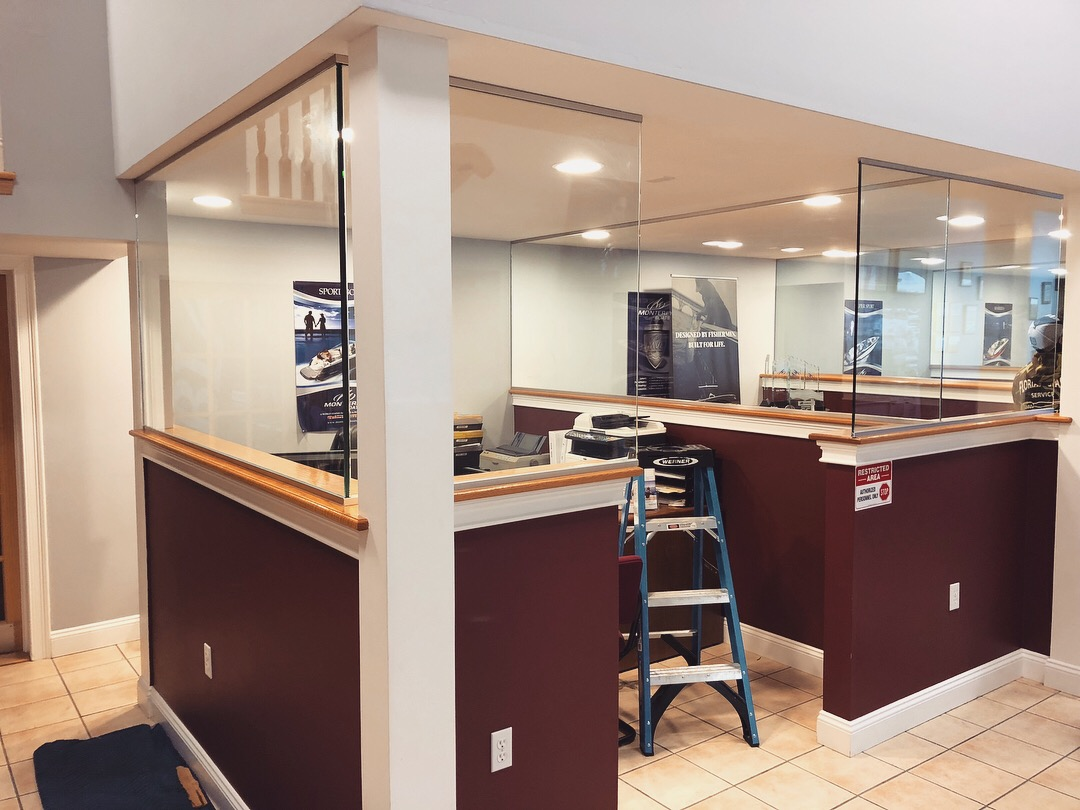 Jersey City Glass Partition Walls Installation