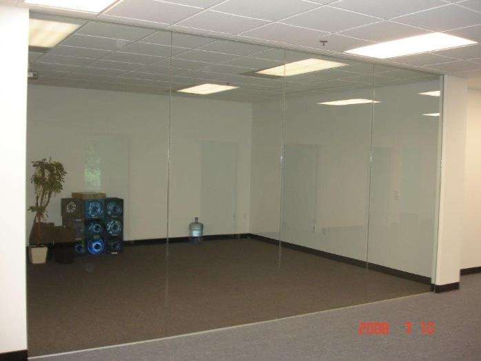 Hudson County Glass Partitions