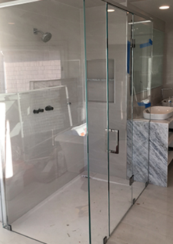 Bergen County Custom Shower Glass Doors